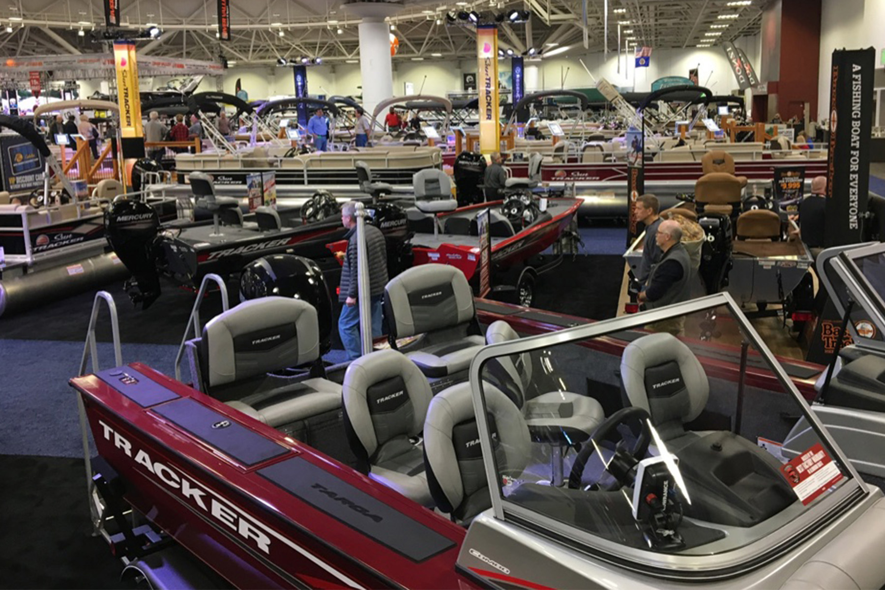 Bass Pro Boating Center Showroom